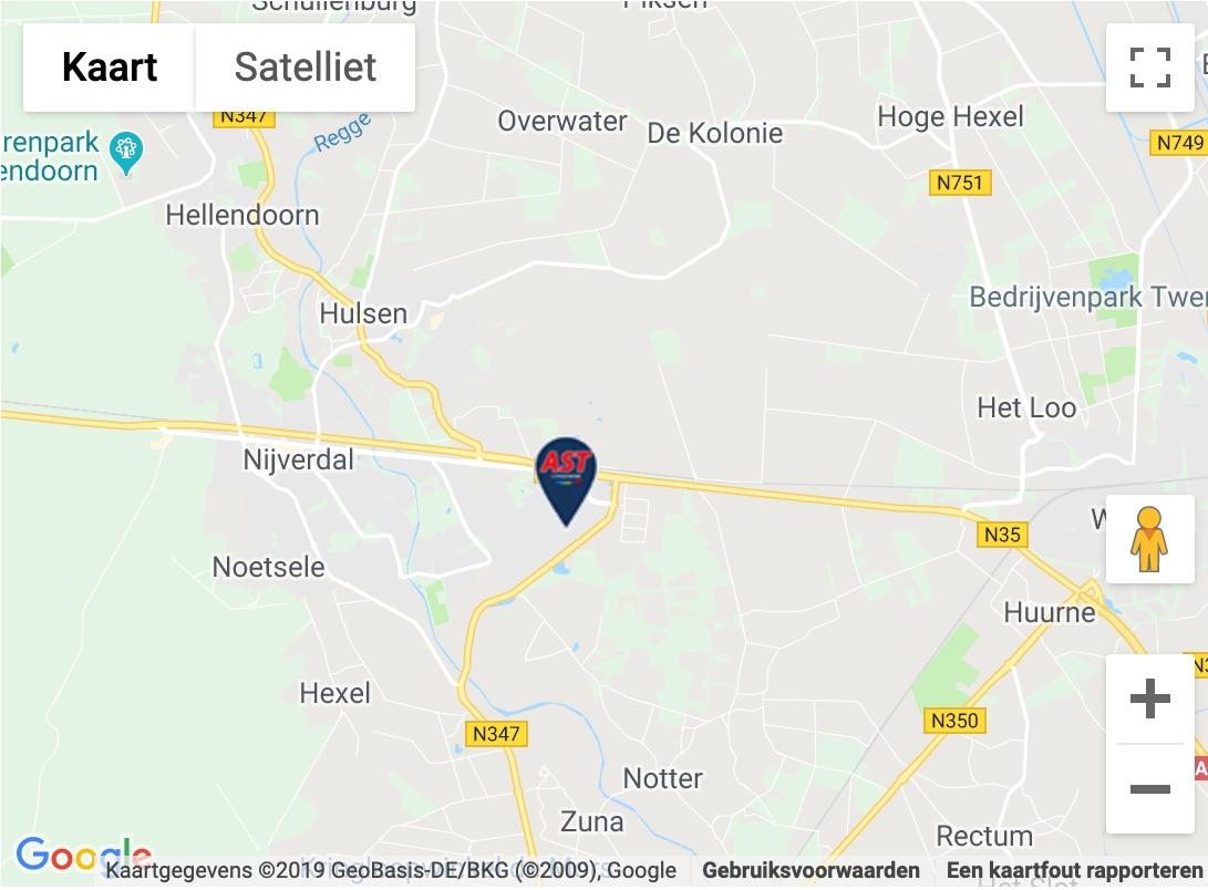 Maps afbeelding AST Car inside Nijverdal
